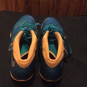 competitive price 1b00f 34e82 Nike Shoes - Nike Zoom Lebron James Soldier VII Turbo Green 13